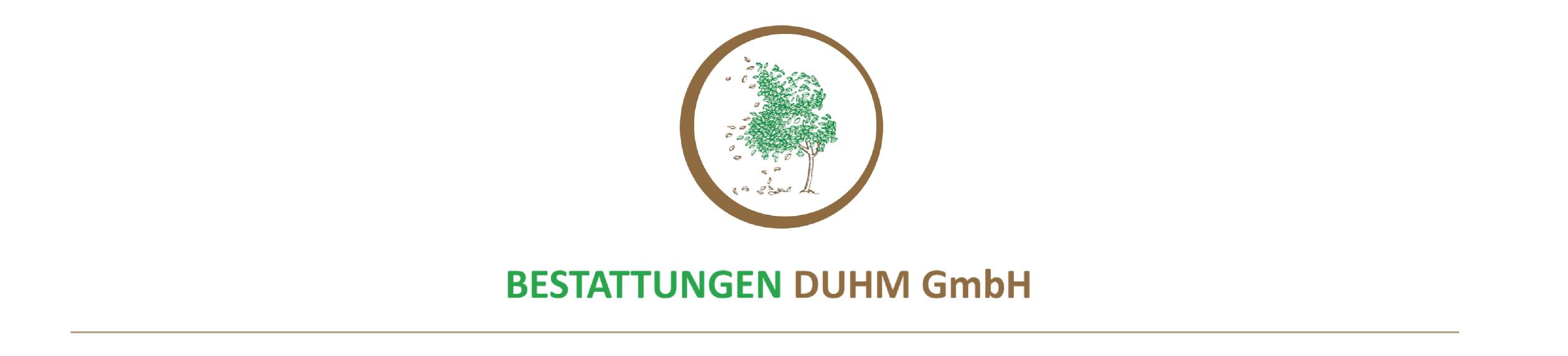 Duhm Bestattungen Logo